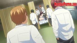 Una descomunal orgía en la enfermería de la escuela