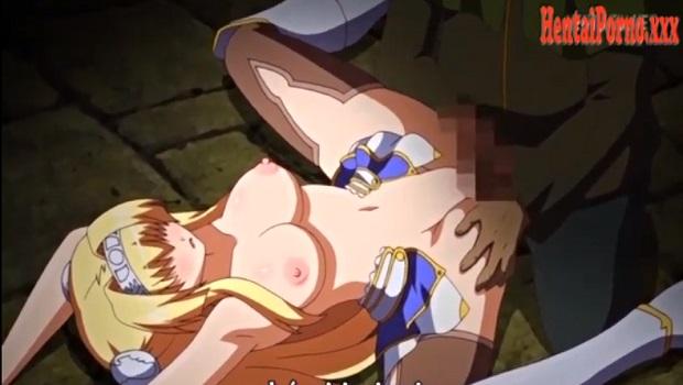 Viejo obsesionado violando a la princesa