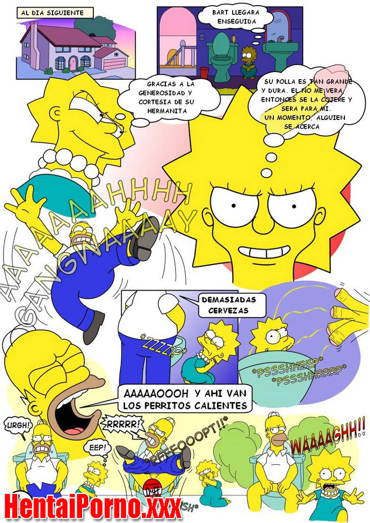 Lisa Simpson perdiendo su virginidad
